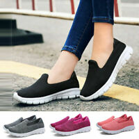 Womens Sneakers Slip On Shoes Casual Loafers Flats Breathable  Boat Shoes
