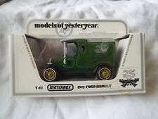 Matchbox Models of Yesteryear Y12 1912 Model T Ford