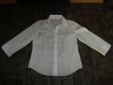 Marks & Spencer Ladies Fitted Shirt, Size 12, Really Good