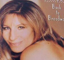 Back to Broadway by Barbra Streisand (Cassette, Jul-1993, Columbia)