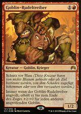 Goblin-trasgo foil/Goblin piledriver   nm/ex   versiones preliminares Promo   ger