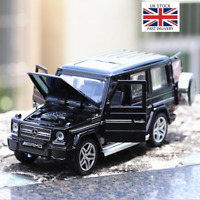 1/32 Diecasts Vehicles Mercedes G65 AMG Car Model Sound Light Toys Child Gift