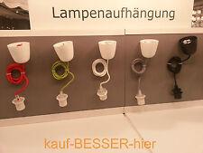 IKEA Sekond Hemma Lampenaufhängung Textil Lampenkabel Baldachin Lampenfassung