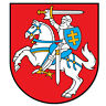 """Lithuania Coat of Arms Flag car bumper sticker window decal 4"""" x 5"""""""
