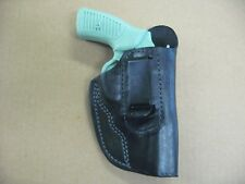 "Charter Arms Bulldog 44 3"" IWB Leather In The Waistband CCW Holster BLACK RH"