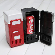 Mini USB Refrigerator Fridge Cooler Warmer Car Boat Home PC Office Red Black