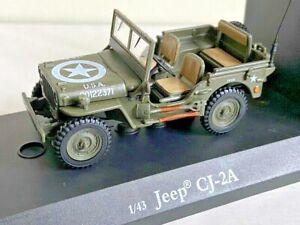 Cararama Willys U.S. Army Jeep