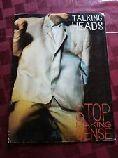 Talking Heads Stop Making Sense Movie Promo Program.