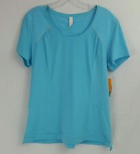 NWT Blue Lucy Pack & Dash Race System Short Sleeve Shirt, Large, Reflective