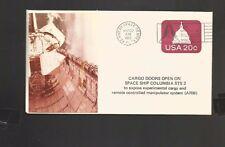 STS-2 COLUMBIA CARGO DOORS OPEN MAR 22, 1982 KSC, FL