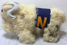 VTG Mid Century Bill the Goat Mascot Plush College Military US Naval Academy