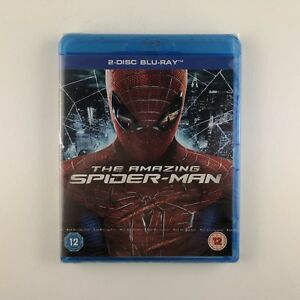 The Amazing Spider-Man (Blu-ray, 2012, 2-Disc Set) *New & Sealed*