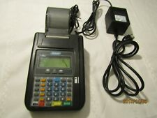 Hypercom T7Plus Credit Card Machine Reader With Power Adapter & Cords Q4