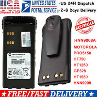 NEW HNN9008A Battery for MOTOROLA PRO5150 HT750 HT1250 GP328 HT1550 HNN9009