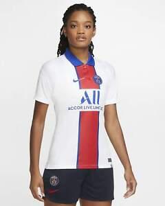 Nike Paris Saint-Germain 2020/21 Away Soccer Jersey White CD4406-101 Women Small