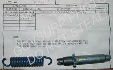 BRAKE SHOE ADJUSTER HARDWARE PER AXEL M151 A1 A2 5704889 NSN: 2530-01-060-7171