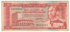 Ethiopia 10 Dollars 1966 P-26