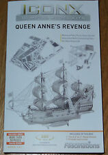 ICONX Queen Anne's Revenge 3D Laser Cut Metal Model Fascinations ICX009