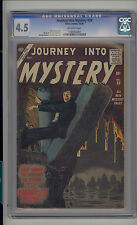 Journey into Mystery #39 CGC 4.5 VG+ Unrestored Atlas Marvel Scarce OW Pages