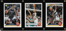 Framed Set Upper Deck Sports Card - Autograph Nick Anderson / Shaquille O'Neal +
