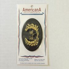 Civil War Union Officer Army Us Cavalry Embossed Sew On Patch New 12138