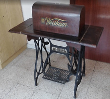 Antigua máquina de coser Wertheim