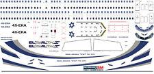 1/144 PAS-DECALS. Decal for Boeing 737-800 El-Al