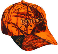 Remington County Mossy Oak Blaze Camo Hat Hunting Camping Adjustable Cap C4