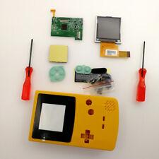 22 Colors GBC 5 Levels Brightness Backlight LCD Screen Kit &GBC Shell Case Cover