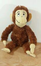 """Kohl's Cares Hand Hand Finger Thumbs Monkey 16"""" Plush"""