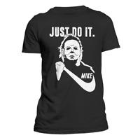 Michael Myers Halloween Just Do It T-Shirt Funny Parody Men's T-Shirt