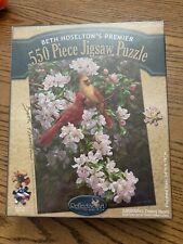 New Beth Hoselton's Premier Spring Romance 550 Piece Jigsaw Puzzle Sealed