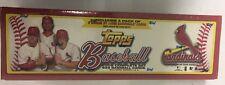 2006 Topps Baseball Factory Set Cardinals Sealed Complete 659 Card Bonus Pack