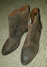 Elliott Lucca Rosaria Women US 6.5 M Brown Ankle Boot Bootie NWT #1565