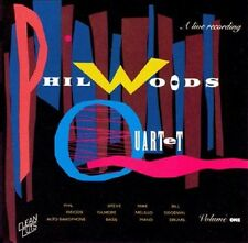 Phil Woods Quartet - Phil Woods Quartet Live Volume 1 - Clean Cuts NEW Jazz