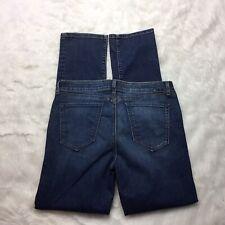 Yummie By Heather Thomson Slim Straight Jeans Size 34 x 34 Dark Wash J2E