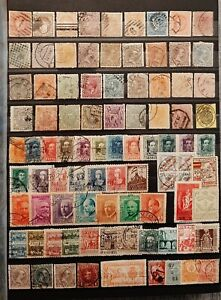 SPAIN (3378) Nice Old Collection  (MH/used)