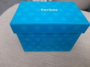 Kids can cook. recipe box.