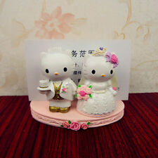 Hello Kitty & Dear Daniel Resin Name Card Holder Home Decoration Wedding Gift-2