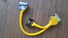 """Used Very Good Vantec 24"""" 2 device rounded IDE Cable Yellow Ultra ATA 133 IDE"""