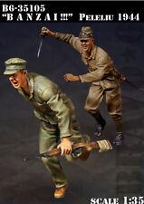 """Bravo6 1/35 WWII """"Banzai!!!"""" Peleliu 1944 (2 figures) #35105"""