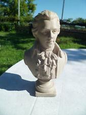 Ancien buste en plâtre patiné - Ecole de musique de Paris - XIXéme -