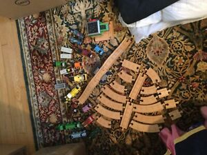 Thomas the Train Wooden - HUGE LOT - VERY GOOD CONDITION