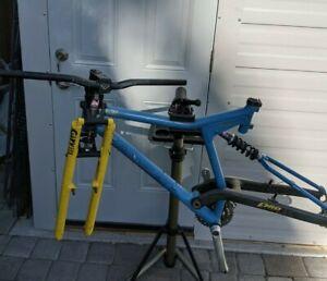 "Vintage Proflex 857 Carbon Aluminum Mountain Bike Frame Set Size 20.5"" Girvin"