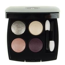 Chanel Eyeshadow Quad 272 Tisse Dimensions Purple Pink Silver Cream Shades - New