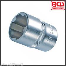 "BGS - 21 mm Socket - 6 Point - ""Super Lock"" - 1/2"" Drive - Pro Range - 2421"