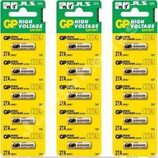 15  GP MN27 A27 27A GP27A  EL812 Alkaline Batteries 12v