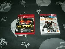 Killzone 2 And 3 For Sony PS3 , Killzone 3 Brand New Factory Sealed