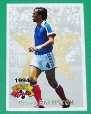 FOOTBALL CARD PANINI 1994 PATRICK BATTISTON EQUIPE FRANCE METZ ASSE BORDEAUX ASM