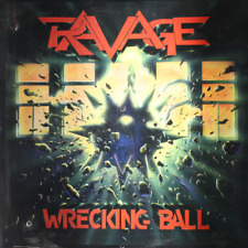 "RAVAGE Wrecking Ball - NEW SEALED 1986 Vinyl 12"" LP Record Hard Rock Heavy Metal"